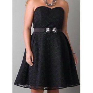Lane Bryant Convertible Lace Cocktail Dress Sz 20
